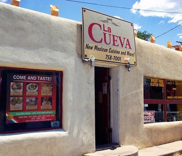 La Cueva Cafe Building At Historic Casa Baca Plaza Dates Back To 1850